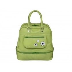 Leather Travel Bag Green shoemaker ball