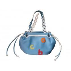 Shopping bag light blue lettering skin