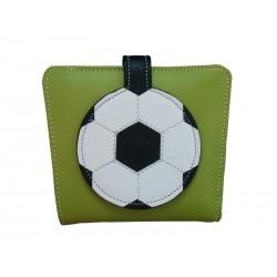 Green Wallet Purse Soccer ball