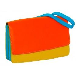 Yellow Leather Handbag Cross