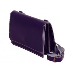 Transfer cross purple bag